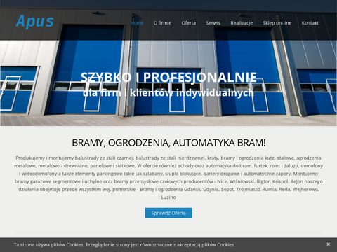 Apus.comweb.pl - bramy Reda