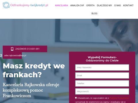 Odfrankujemy-twojkredyt.pl
