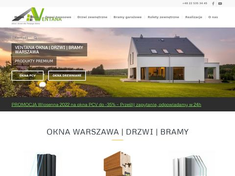 Warszawa.pcv-okna.pl Ventana drzwi bramy