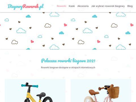 Biegowyrowerek.pl dla twojego dziecka