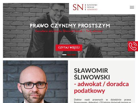 Snkancelaria.pl Śliwowski Nowak adwokaci