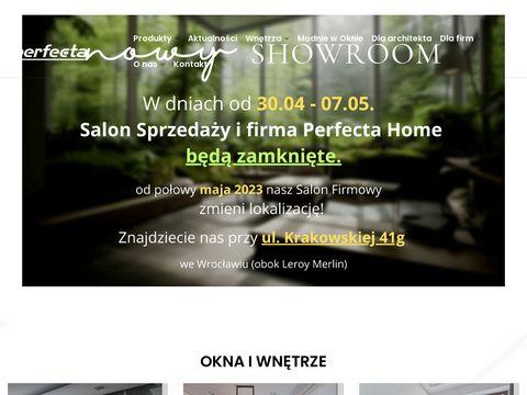 Perfecta.pl rolety do biura, na wymiar Wrocław
