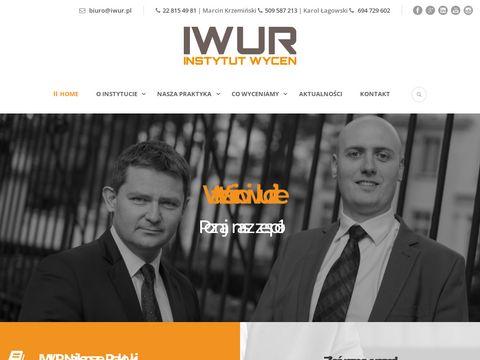 Iwur.pl wycena przedsiębiorstwa spółki