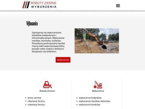 Roboty-ziemne-wyburzenia.pl usługi budowlane