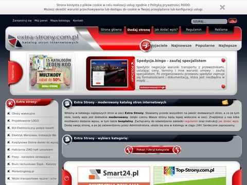 Extra-strony.com.pl - katalog stron internetowych