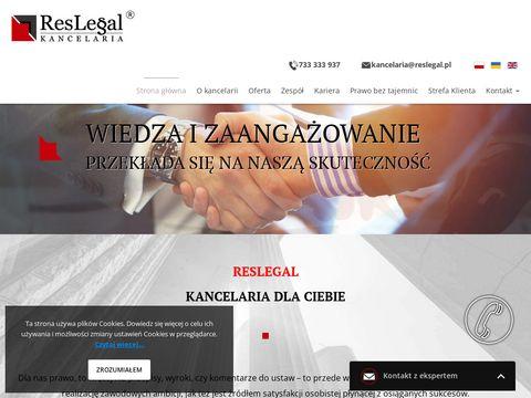 Reslegal kancelaria adwokacka Rzeszów adwokat