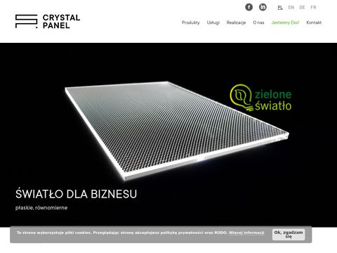 Crystal-panel.com cięcie laserem Poznań