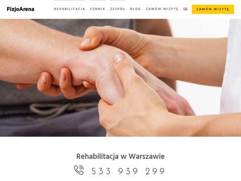 FizjoArena rehabilitacja Warszawa
