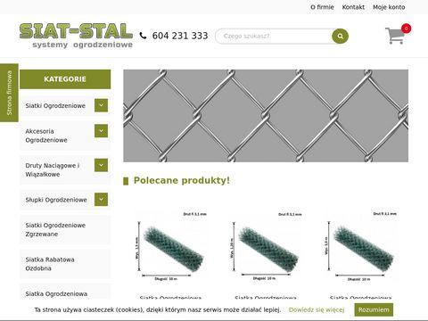 Siat-stal producent siatki ogrodzeniowej