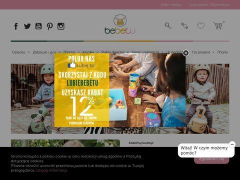 Bebetu.pl - wyjątkowe zabawki