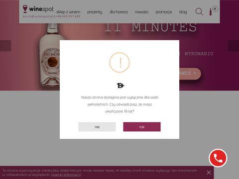 Winespot.pl - sklep internetowy z winem