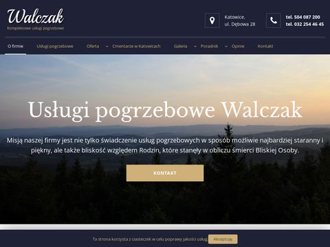 Walczakpogrzeby.pl zakład pogrzebowy