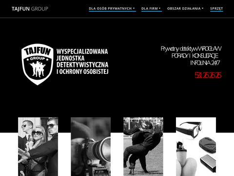 Tajfungroup.pl biuro detektywistyczne