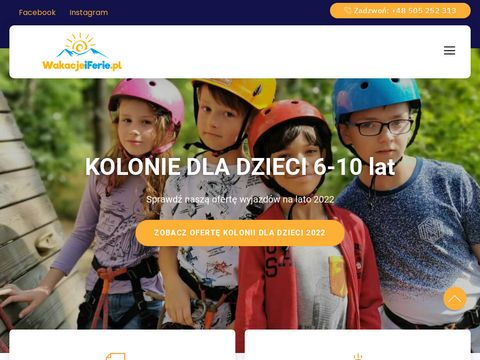 Wakacjeiferie.pl dla dzieci