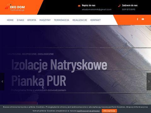 Izolacjapianka.com.pl ocieplanie domu Lębork