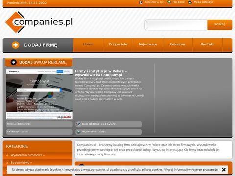 Companies.pl - katalog stron firmowych