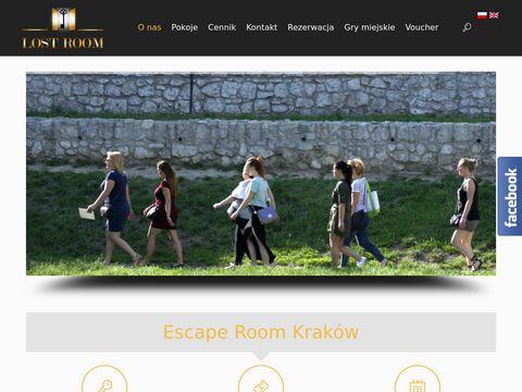 LostRoom.pl - gra escape room - Kraków