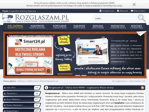 Rozglaszam.pl - reklama strony www