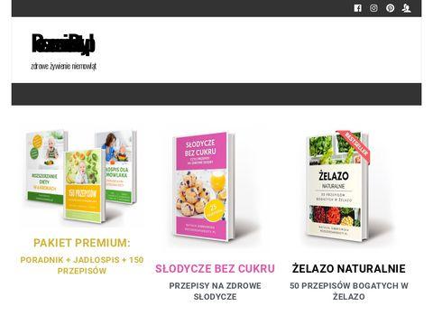 Rozszerzaniediety.pl strona o żywieniu niemowląt