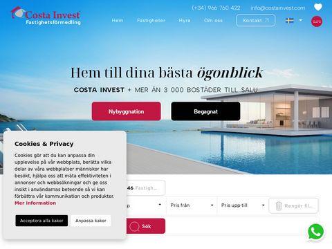 Costainvest.com - domy w Hiszpanii