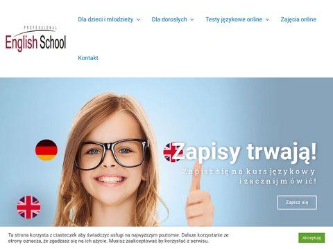 Professionalenglish.com.pl kurs angielskiego