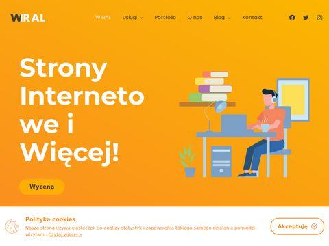 Wiral strony internetowe i więcej