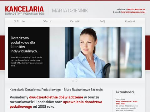 Mojepodatki.pl biuro rachunkowe Szczecin