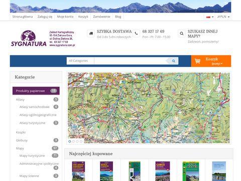 Sygnatura.com.pl mapa Tatr