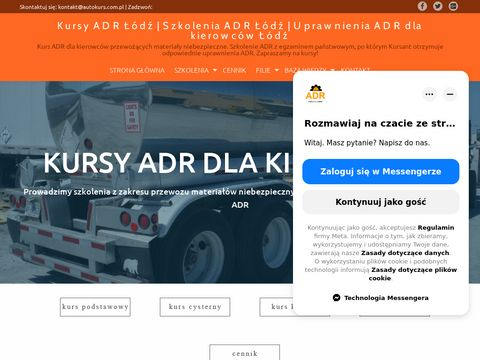 Autokurs.com.pl adr Łódź