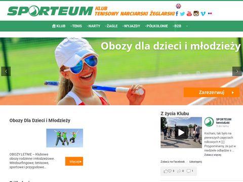 Sporteum.pl tenis korty w Warszawie