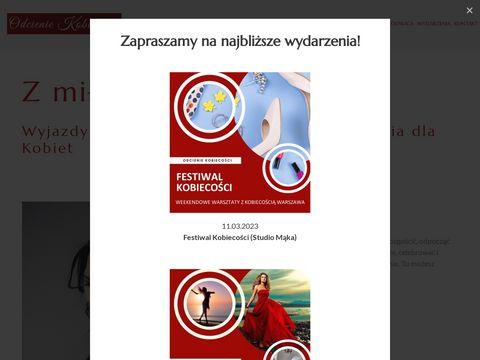 Odcieniekobiecosci.pl weekend dla kobiet