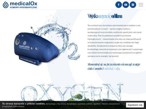 Medicalox.pl komory hiperbaryczne i tlenoterapia
