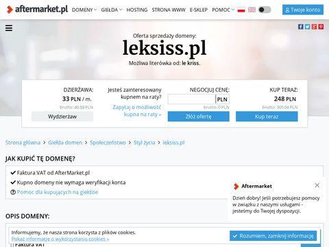Leksiss.pl - blog o modzie, stylizacje, kosmetyki