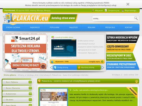 Plakacik.eu - baza stron polskiego internetu