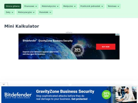 Szyfr Cezara online - minikalkulator.pl