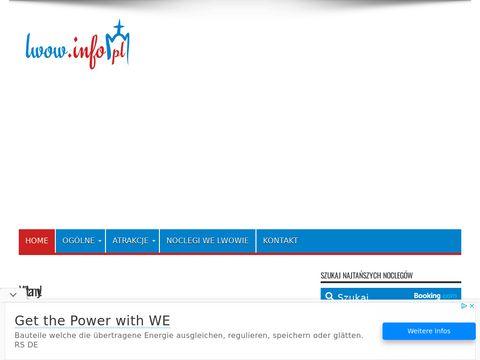 Lwow.info.pl krótko o największych atrakcjach