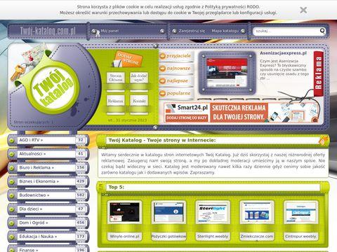 Twoj-katalog.com.pl - twoje strony w internecie