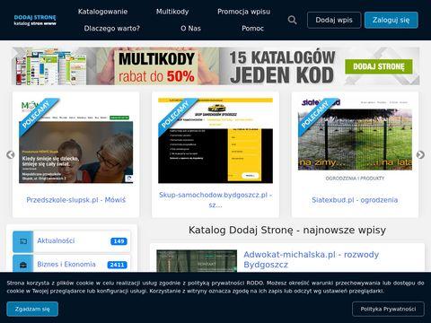 Dodaj-strone.com.pl - katalog stron internetowych