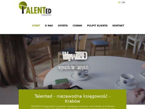 Talented biuro rachunkowe księgowość z Krakowa