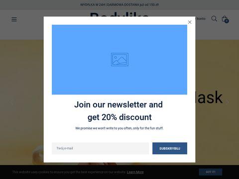 Bodylike.pl - sklep z naturalnymi kosmetykami