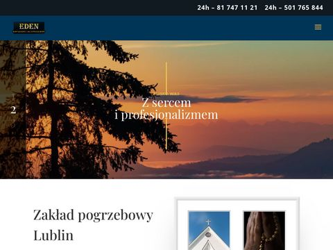 Eden - usługi pogrzebowe