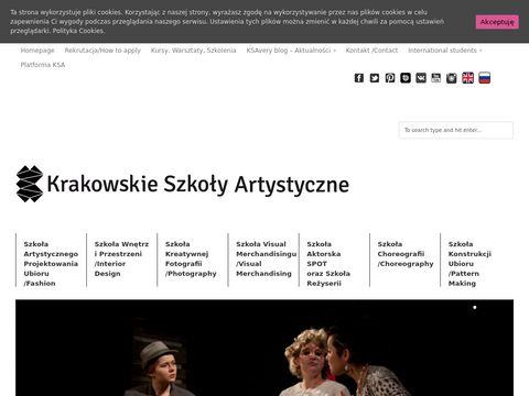 Ksa.edu.pl kurs rysunku Kraków