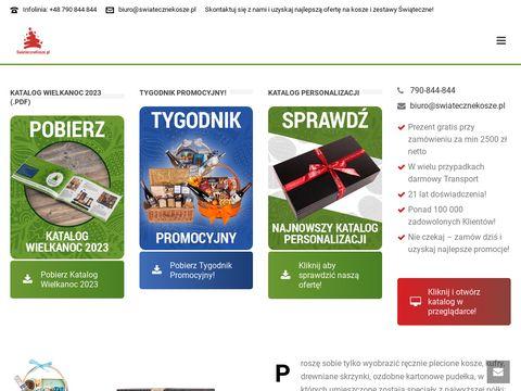 Kosze świąteczne Wrocław - swiatecznekosze.pl