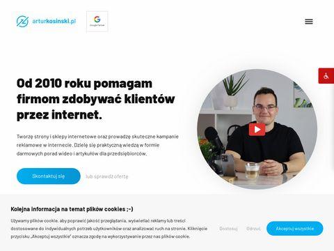 Arturkosinski.pl strony internetowe Olsztyn