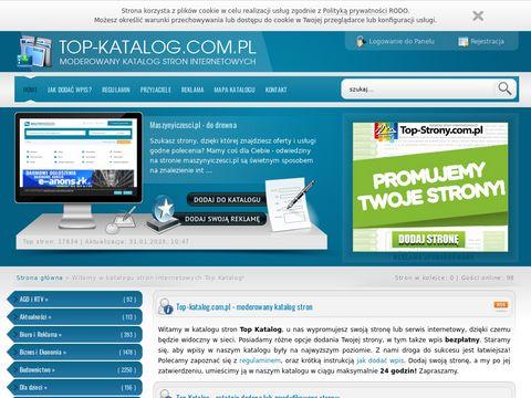 Top-katalog.com.pl - moderowany katalog stron