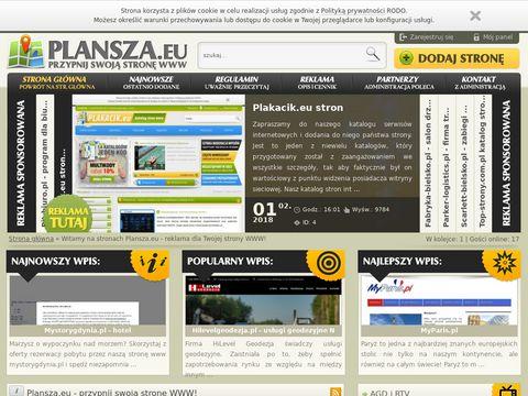 Plansza.eu - baza stron
